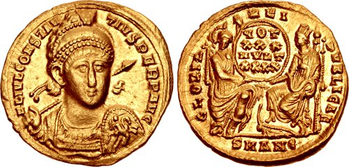 CNG: The Coin Shop  Constantius II  AD 337-361  AV Solidus